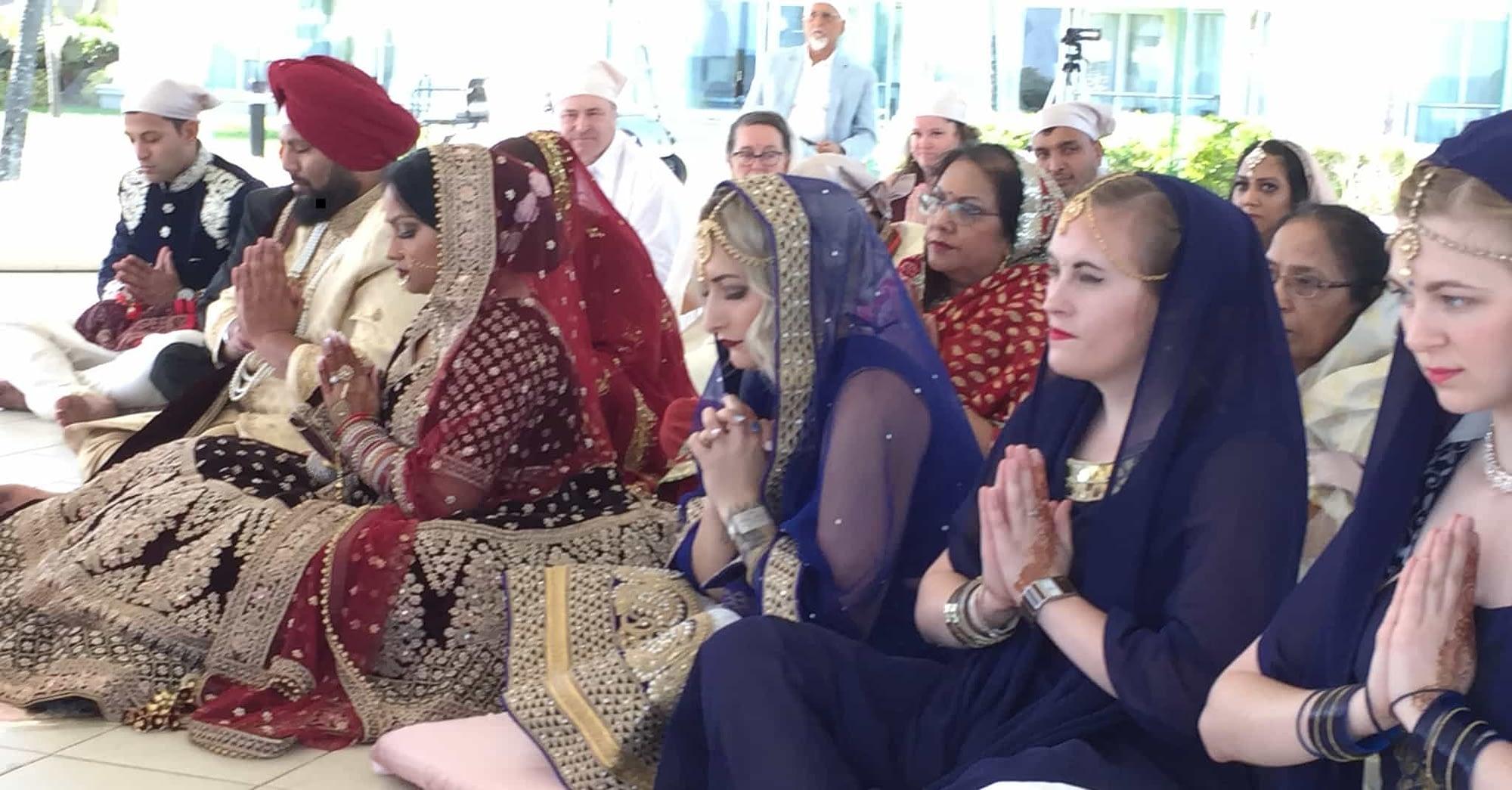 Sikh Wedding Priest