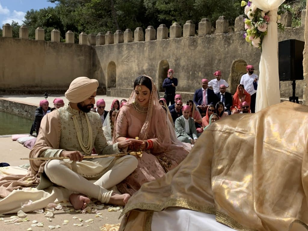 Sikh Priest Destination Wedding